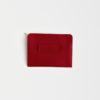 Leder Gürteltasche , Hüfttasche rot - leather belt bag red
