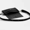 Gürteltasche leder schwarz Hüfttasche fanny pack, leather, belt bag, black