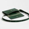 Gürteltasche Leder, Hüfttasche Leder, grün, fanny pack, belt bag, green