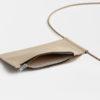 Leder Handytasche zum umhängen / Leder Brustbeutel Handy