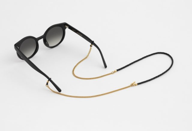 Brillenkette gold