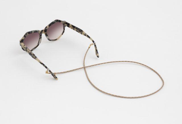 brillenband leder natur hellbraun